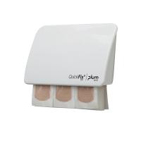 Pflasterspender Plum Quickfix Uno 5532, weiß, 45 Stück
