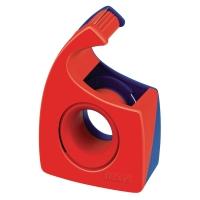 Handabroller Tesa 57443, für 19mm x 10m, rot/blau