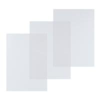 Einbanddeckel Lyreco, A4, 200my, glasklar, 100 Stück
