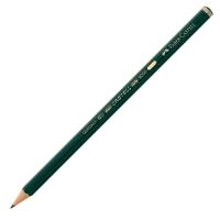 Bleistift AWF 119002 9000, Härtegrad: 2B, grün lackierter Schaft