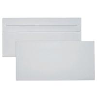 Briefumschläge DIN lang, ohne Fenster, Selbstklebung, 75g, weiß, 1000 Stück