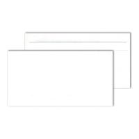 Kompaktumschläge 125 x 235mm, ohne Fenster, Selbstklebung, 80g, weiß, 1000St