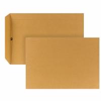 Versandtaschen C5, ohne Fenster, Nassklebung, 90g, braun, 500 Stück