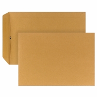 Versandtaschen B5, ohne Fenster, Selbstklebung, 90g, braun, 500 Stück