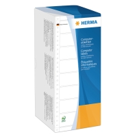 Universal-Etiketten Herma 8213, 1bahnig, 101,6 x 48,4mm (LxB), weiß, 6000 Stück