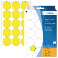 Markierungspunkte Herma 2271, Ø 32mm, gelb, 480 Stück