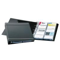 Visitenkartenringbuch Durable 2388, Visifix, für 400 Karten, anthrazit