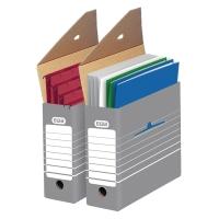 Archivschachtel Elba 83420, Maße: 34 x 26,5 x 9,5cm, grau/weiß