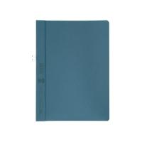 Klemmmappe Elba 36450, A4, Fassungsvermögen: 10 Blatt, ohne Vorderdeckel, blau
