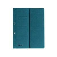 Ösenhefter Falken 80003809, A4, halber Vorderdeckel, kaufmännische Heftung, blau