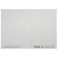 Blankoschilder Elba 83582, 58 x 18mm, weiß, 50 Stück