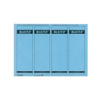 Rückenschilder Leitz 1685, kurz / breit, blau, 100 Stück