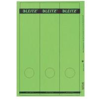 Rückenschilder Leitz 1687, lang / breit, grün, 75 Stück
