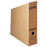 Archivstehsammler Leitz 6083, A4, Maße: 80 x 265 x 320mm, naturbraun