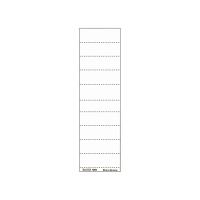 Blankoschilder Leitz 1901, 60 x 21mm, weiß, 100 Stück