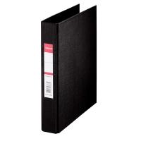 Ringbuch Esselte 47687, A5, 2-Ringe, Ringdurchmesser: 25mm, schwarz