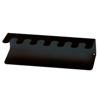 Stempelträger Maul 52206, für 6 Stempel, gerade Ausführung, schwarz