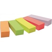 Haftmarker Post-it Page Marker 670-5, 15 x 50 mm, 5 x 100 Blatt, farbig sortiert