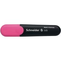 Textmarker Schneider Job, Strichstärke: 1+5mm, nachfüllbar, rosa
