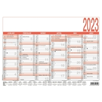 Tafelkalender 2018 Zettler 904, 6 Monate / 1 Seite, A5