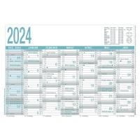 Tafelkalender 2018 Zettler 909, 7 Monate / 1 Seite, A4
