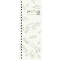 Vormerkkalender 2018 Zettler 718UWS, 1 Woche / 1 Seite, 105 x 295mm