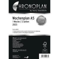 Wochenplan 2018 Chronoplan 50238, 1 Woche / 2 Seiten, A5