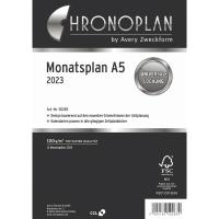 Monatsplan 2018 Chronoplan 50288, A5