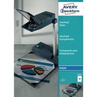 Overhead-Folie Avery Zweckform 2502, A4, transparent, Stärke: 0,11mm, 50 Stück