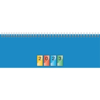 Tischquerkalender 2018 Brunnen 77240, 1 Woche / 2 Seiten, 29,7x10cm, 4-farbig