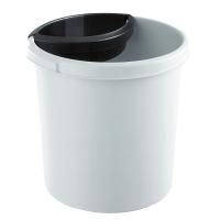 Abfalleinsatz HAN 1835, für Papierkörbe 1819 + 1834, 1 Liter, schwarz