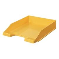Briefkorb HAN 1027, stapelbar, Maße: 243 x 335 x 57mm, gelb