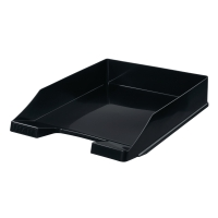 Briefkorb HAN 1027, stapelbar, Maße: 243 x 335 x 57mm, schwarz