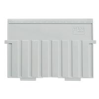 Stützplatte HAN 9025, für Karteikästen-tröge, A5 quer, lichtgrau