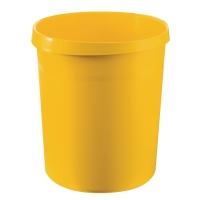Papierkorb HAN Grip 18190, Fassungsvermögen: 18 Liter, gelb