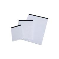 Notizblock A5, kariert, holzfrei, ohne Deckblatt, 50 Blatt