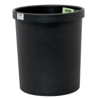 Papierkorb Metzger 201S0100, Fassungsvermögen: 18 Liter, schwarz