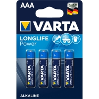 Batterie Varta 4903, Micro, LR03/AAA, 1,5 Volt, High Energy, 4 Stück