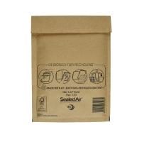 Luftpolstertaschen Mail Lite C/0 Innenmaße: 150x210mm goldgelb 5St