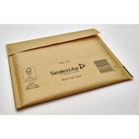 Luftpolstertaschen Mail Lite CD-ROM Innenmaße: 160x180mm goldgelb 5St