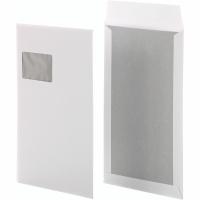 Versandtaschen Bong 14009, mit Papprückwand, C4, mF, HK, 120g, weiß, 100 Stück