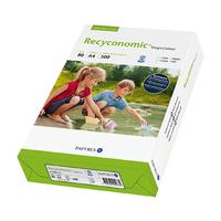 Kopierpapier Recyconomic A4, 80g, canariengelb, 500 Blatt