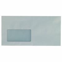 Briefumschläge DIN lang, mit Fenster, Selbstklebung, 80g, Recycling, 100 Stück
