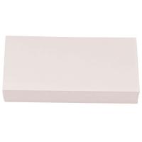 Moderationskarten OTC M301-01, Rechtecke, 95 x 205mm, 130g, weiß, 250 Stück