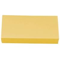 Moderationskarten OTC M301-04, Rechtecke, 95 x 205mm, 130g, gelb, 250 Stück