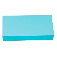 Moderationskarten OTC M301-09, Rechtecke, 95 x 205mm, 130g, blau, 250 Stück