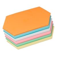 Moderationskarten OTC M306-99, Rhomben, 95x205mm, 130g, 6-farbig sort., 250 St.