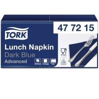 Servietten Tork 477215, Maße: 33 x 33cm, 2-lagig, blau, 200 Stück