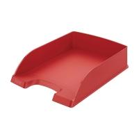 Briefkorb Leitz 5227, stapelbar, Maße: 245 x 340 x 58mm, rot