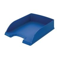 Briefkorb Leitz 5227, stapelbar, Maße: 245 x 340 x 58mm, blau